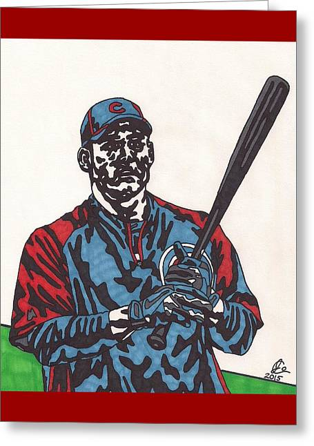 Anthony Rizzo Greeting Card