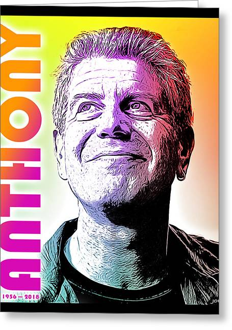 Anthony Tribute Greeting Card