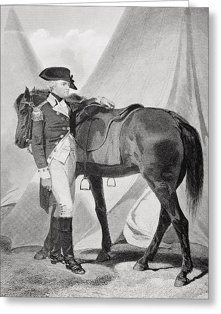 Anthony Wayne 1745-1796. Officer In Greeting Card by Vintage Design Pics