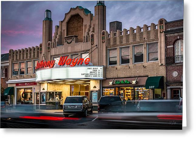 Anthony Wayne Theater Greeting Card by John Guillaume