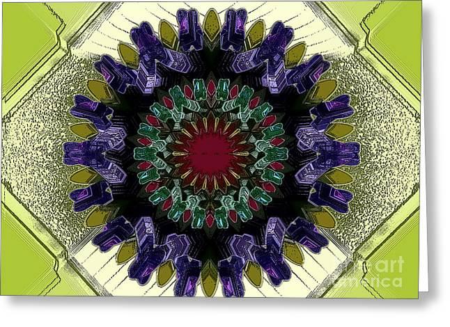 Antibody Greeting Card by Patrick Guidato