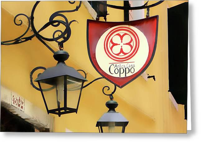 Antica Casa Coppo Greeting Card