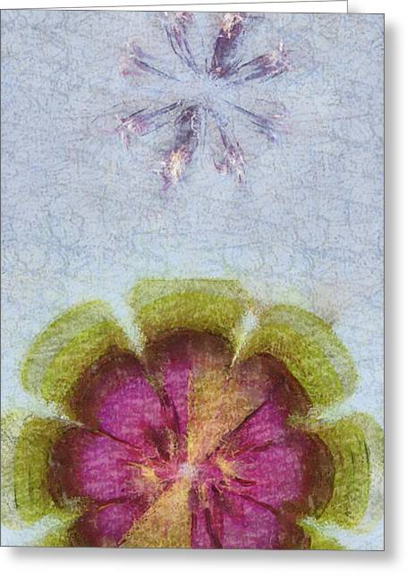 Anticholinesterase Layout Flowers  Id 16165-051223-92970 Greeting Card
