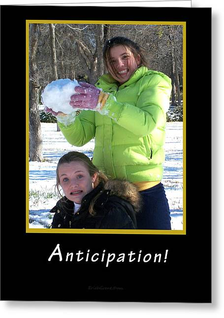 Anticipation Greeting Card