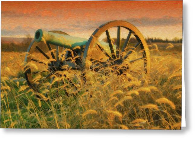 Antietam Battlefield - Dwp140321 Greeting Card
