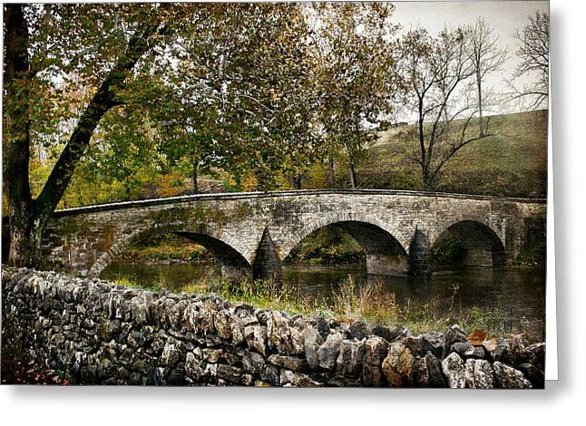 Burnside's Bridge Over Antietam Creek Greeting Card