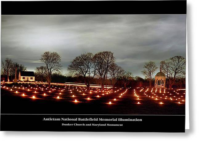 Antietam Panorama Greeting Card