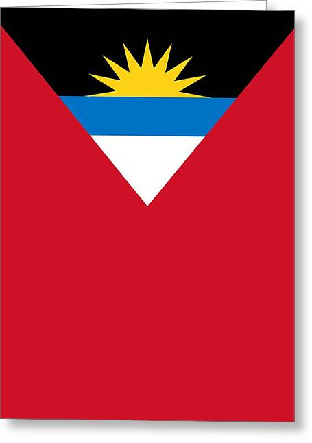 Antigua And Barbuda Greeting Card
