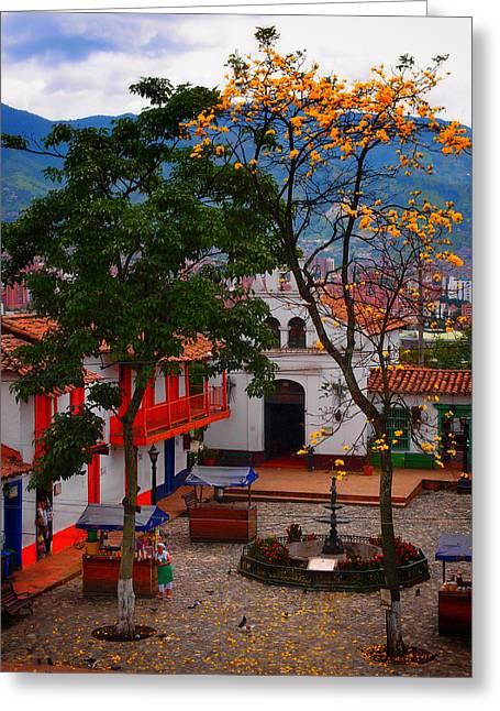 Antioquia Greeting Card by Skip Hunt
