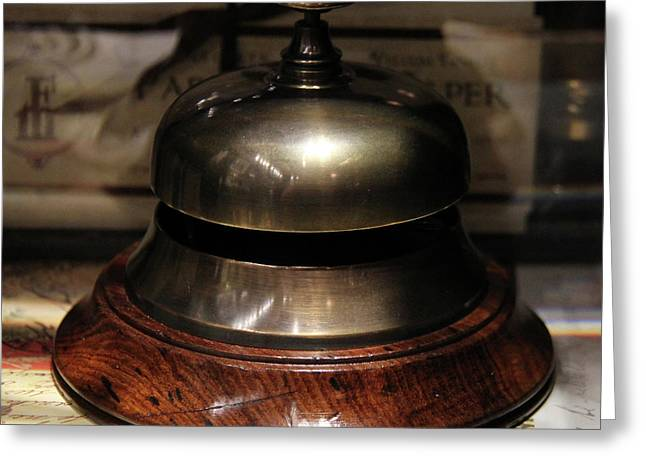 Antique Bell Greeting Card