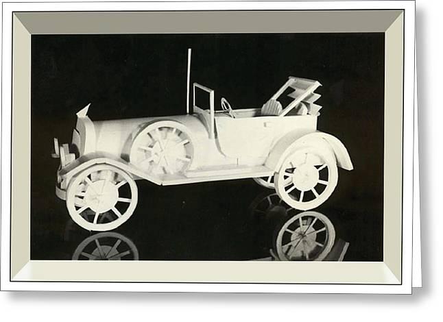 Antique Car Greeting Card