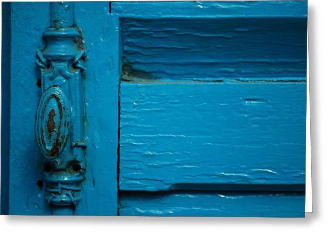 Antique Doorknob Greeting Card