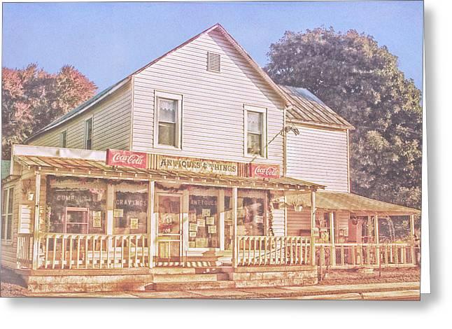 Antique Store, Colonial Beach Virginia Greeting Card