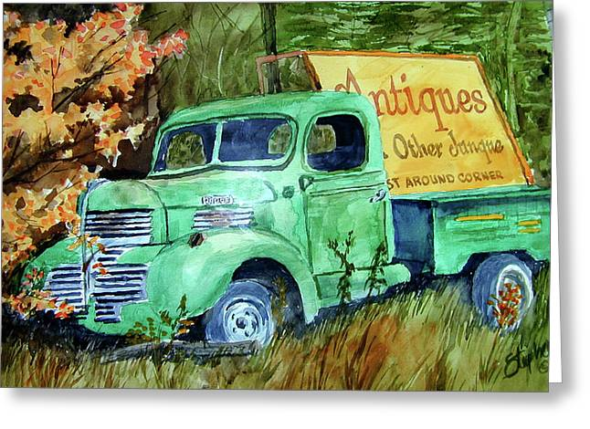 Antiques And Other Junque Greeting Card