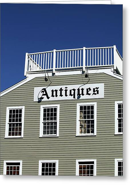 Antiques - Summerland California Greeting Card by Art Block Collections