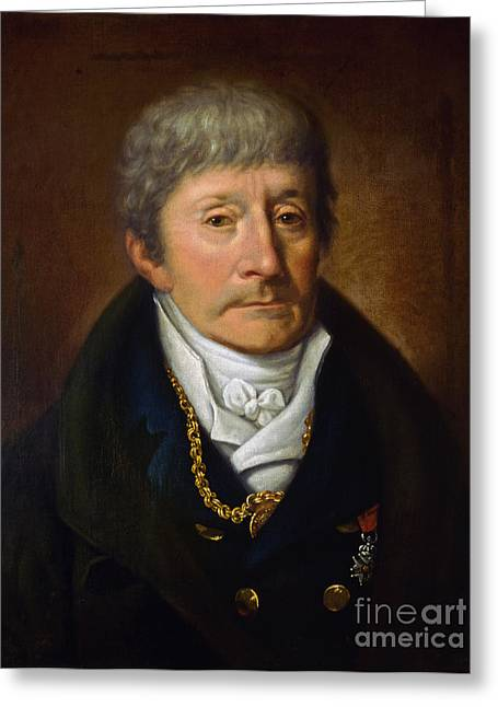 Antonio Salieri, Italian Composer Greeting Card by Science Source