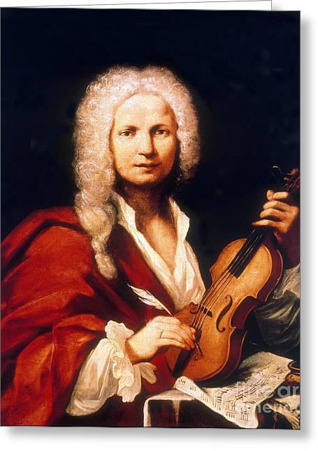 Antonio Vivaldi, Italian Composer Greeting Card