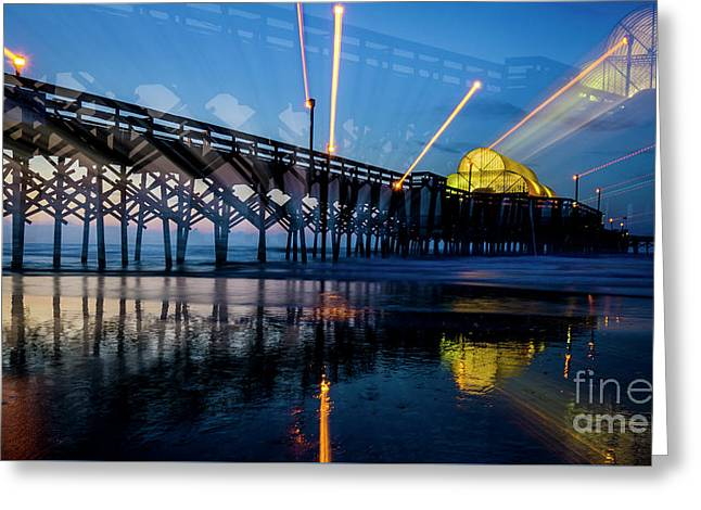 Apache Pier Greeting Card