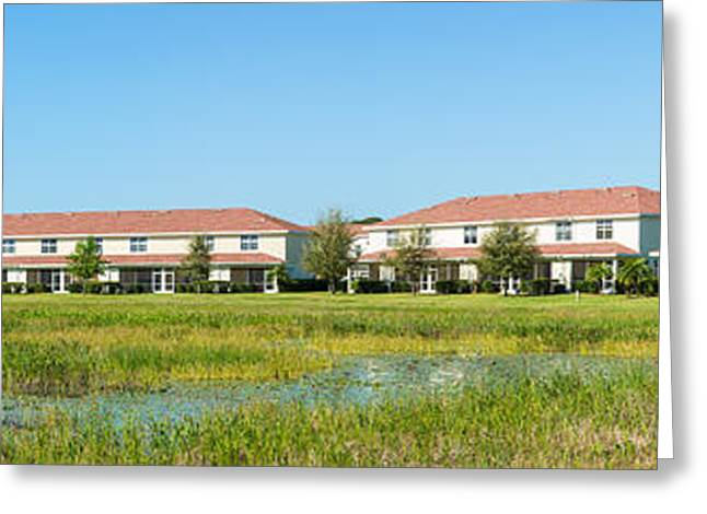 Apartment Buildings In North Port Greeting Card