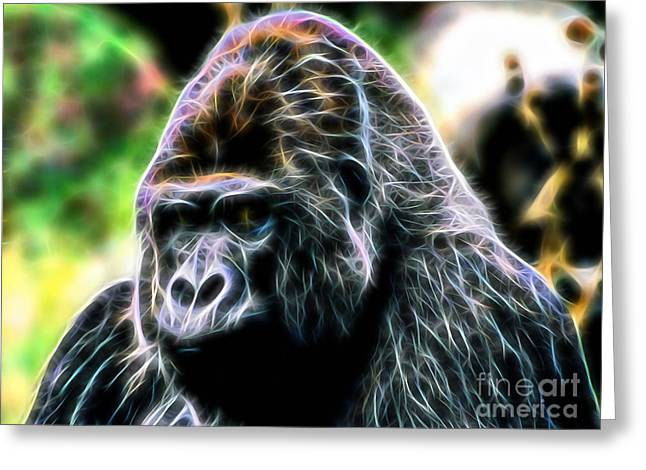 Ape Collection Greeting Card by Marvin Blaine