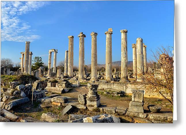 Aphrodisias City, Turkey Greeting Card by Ivan Batinic