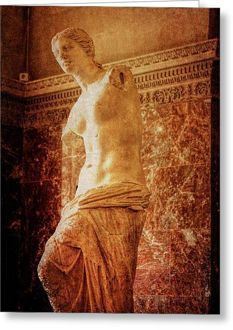 Aphrodite Of Milos Greeting Card by JAMART Photography