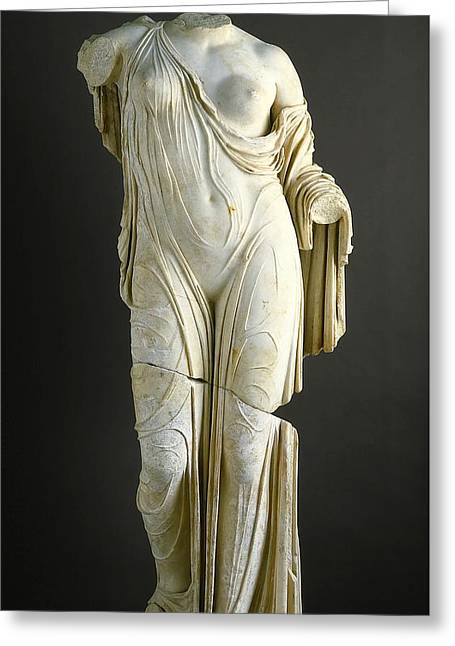 Aphrodite Greeting Card by Roman School