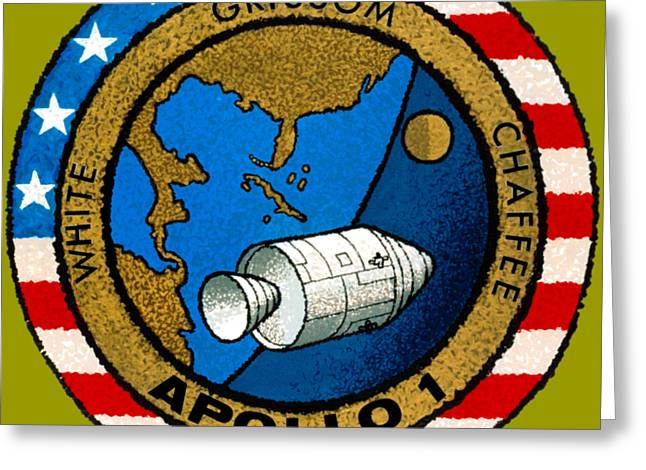 Apollo 1 Insignia Greeting Card by Art Gallery