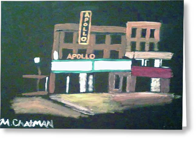 Apollo Theater New York City Greeting Card