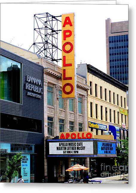 Apollo Theater Greeting Card
