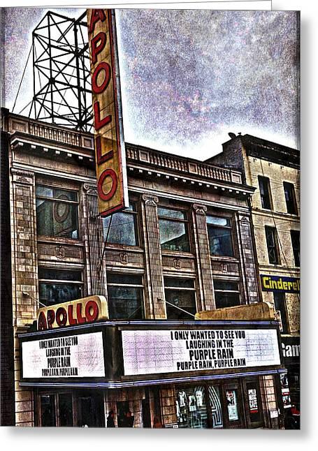 Apollo Theatre, Harlem Greeting Card