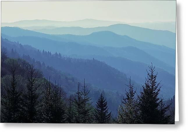 Appalachian Blue Greeting Card