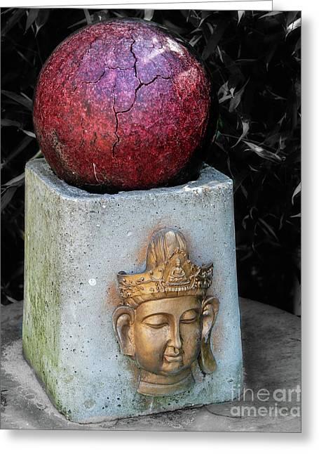 Appalachian Buddha   Greeting Card by Steven Digman
