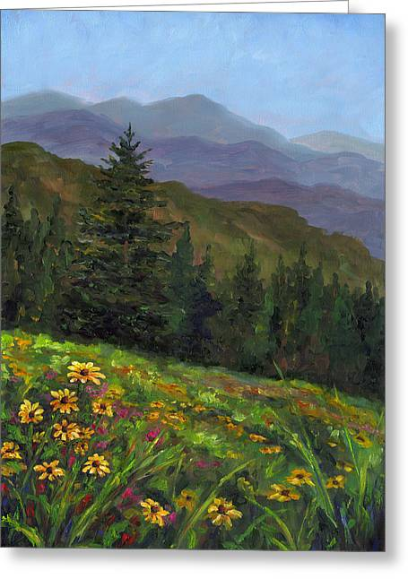 Appalachian Color Greeting Card by Jeff Pittman
