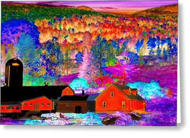 Appalachian Foliage Wonders Greeting Card