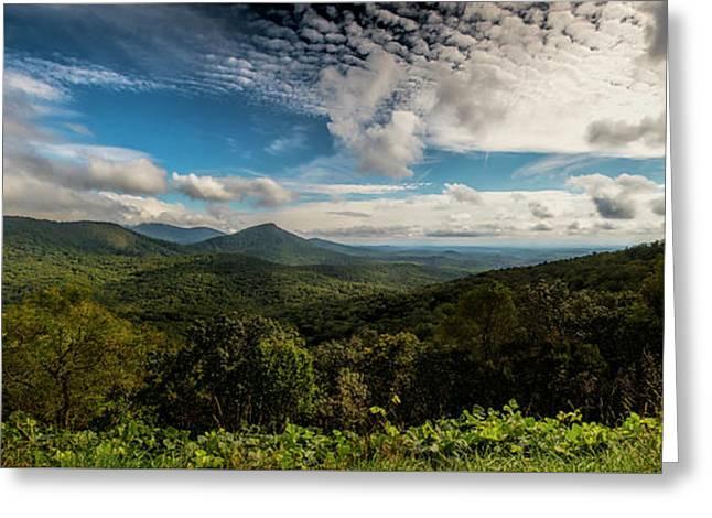 Appalachian Foothills Greeting Card