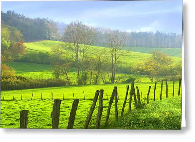 Appalachian Spring Morning Greeting Card by Francesa Miller