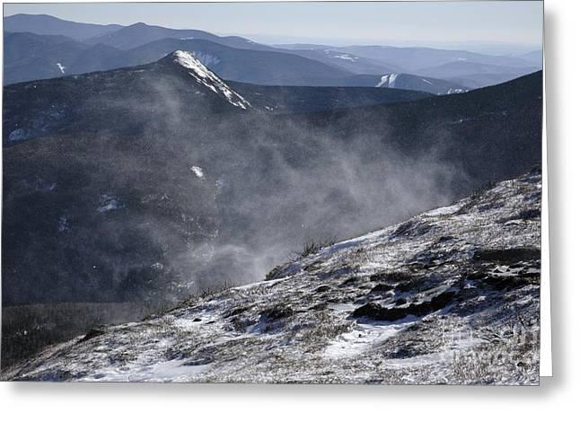 Appalachian Trail - Franconia Ridge-white Mountains New Hampshire Greeting Card by Erin Paul Donovan