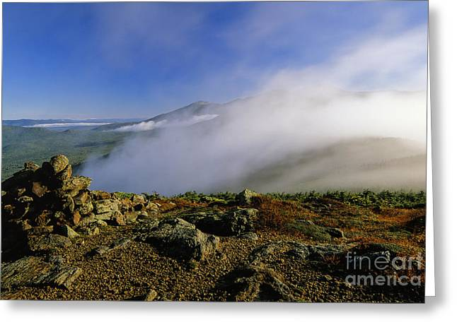 Appalachian Trail - White Mountains New Hampshire Usa Greeting Card