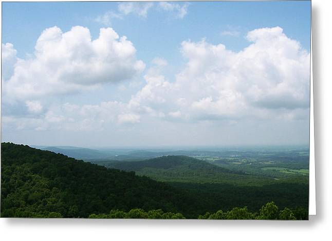 Appalachian Valley - 8 Greeting Card