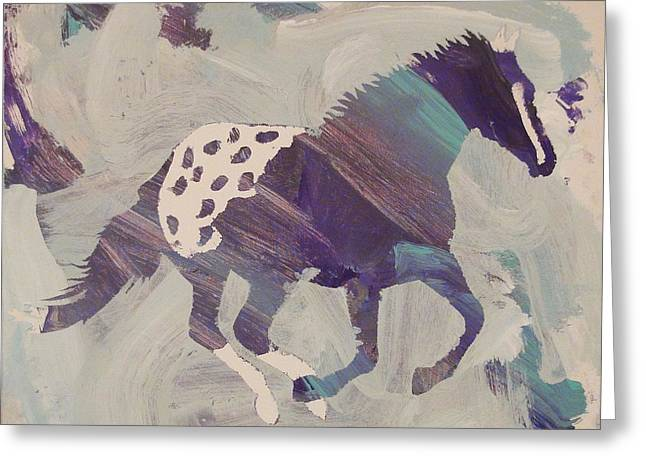 Appaloosa Dreams Greeting Card