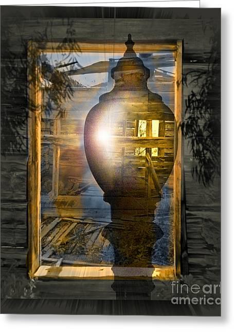 Apparition Greeting Card by Chuck Brittenham