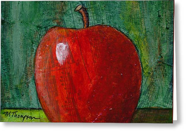 Apple #4 Greeting Card