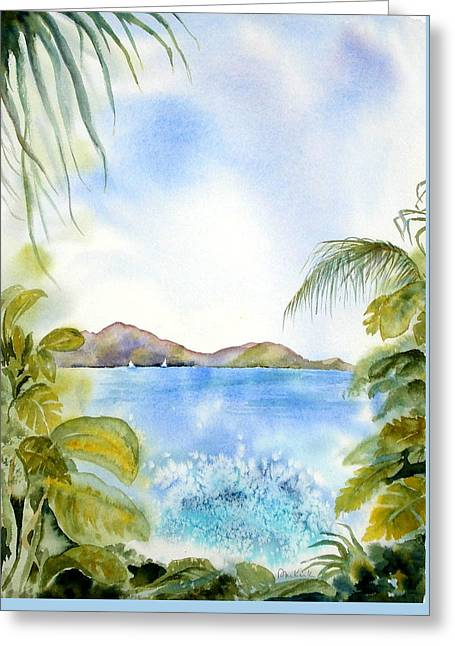 Apple Bay Wave Greeting Card