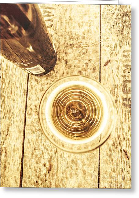 Apple Cider Ale Greeting Card by Jorgo Photography - Wall Art Gallery