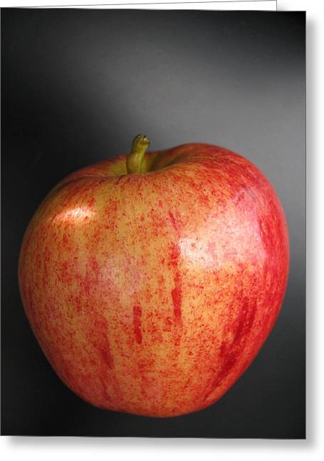 Greeting Card featuring the photograph Apple by Lindie Racz