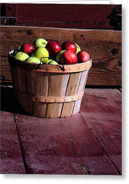 Apple Pickens Greeting Card