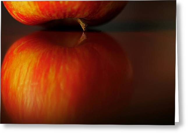 Apple Reflection Greeting Card