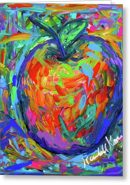 Apple Splash Greeting Card
