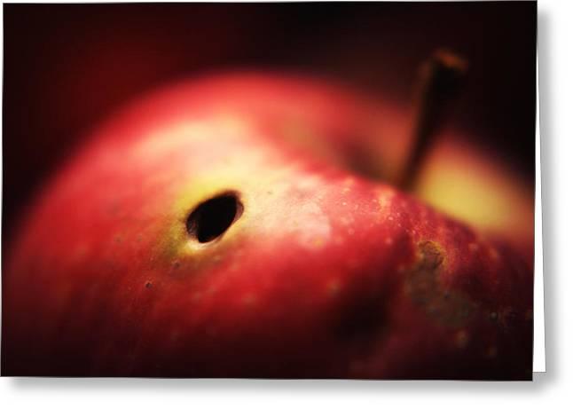 Apple Greeting Card by Svetlana Peric